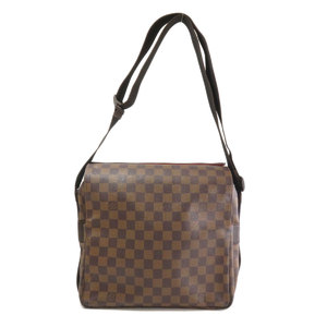 Louis Vuitton N45255 Naviglio Damier Ebene Shoulder Bag Canvas Men's LOUIS VUITTON