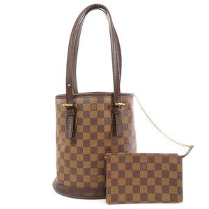 Louis Vuitton N42240 Male Damier Ebene Tote Bag Canvas Ladies LOUIS VUITTON