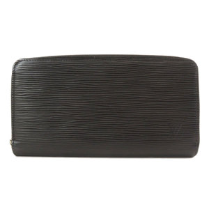 Louis Vuitton M60072 Zippy Wallet Old Epi Noir Leather Men's LOUIS VUITTON