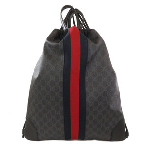 Gucci 473872 GG Supreme 2WAY Backpack Daypack PVC Mens GUCCI