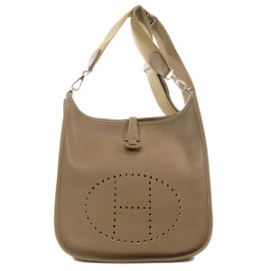 Hermes Evelyn 3 PM Taurillon Etoup Etope Shoulder Bag Ladies HERMES