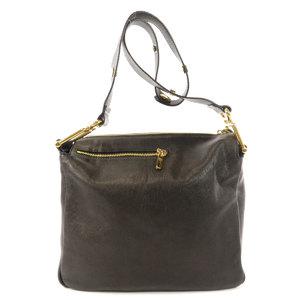 Chloé Chloe metal fittings shoulder bag leather ladies CHLOE