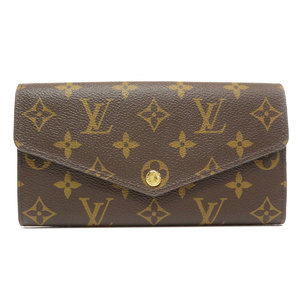 Louis Vuitton M60531 Portofeuille Sarah Monogram Wallet Canvas Ladies LOUIS VUITTON