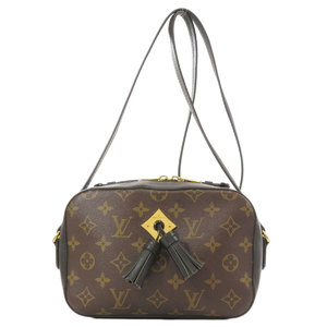 Louis Vuitton M43555 Santonju Monogram Shoulder Bag Canvas Ladies LOUIS VUITTON
