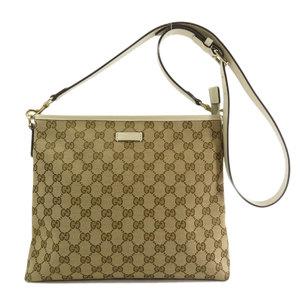 Gucci 388924 GG pattern shoulder bag canvas ladies GUCCI