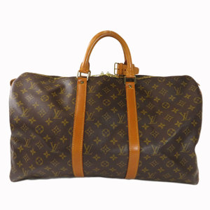 Louis Vuitton M41426 Keepall 50 Monogram Boston Bag Canvas Unisex LOUIS VUITTON