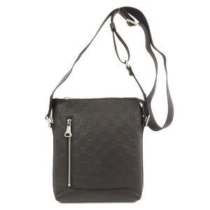 Louis Vuitton N42418 Discovery Messenger BB Damier Infini Onyx Shoulder Bag Men's LOUIS VUITTON