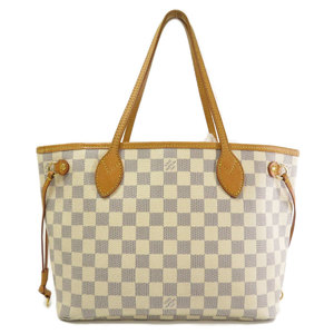 Louis Vuitton N51110 Neverfull PM Old Damier Azur Tote Bag Canvas Ladies LOUIS VUITTON