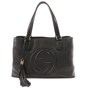 Gucci 308363 Soho 2WAY Tote Bag Calf Ladies GUCCI