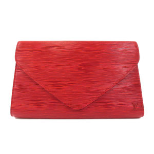 Louis Vuitton M52633 Art Deco Red Clutch Bag Epi Leather Ladies LOUIS VUITTON