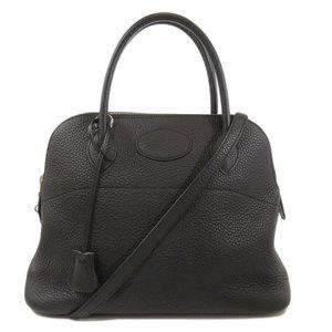 Hermes Borido 31 Silver Hardware Handbag Taurillon Ladies HERMES