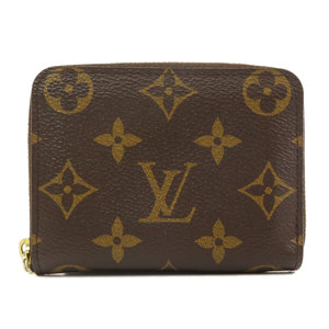 Louis Vuitton M60067 Zippy Coin Purse Monogram Case Canvas Ladies LOUIS VUITTON