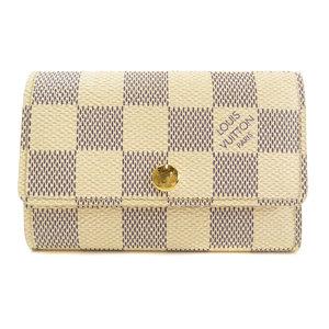 Louis Vuitton N61745 Multicle 6 Key Case Damier Canvas Ladies LOUIS VUITTON