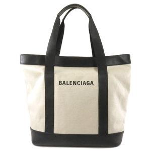 Balenciaga 374767 AQ3AN 9260 Logo Tote Bag Canvas Unisex BALENCIAGA