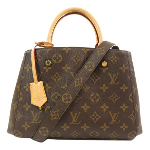 Louis Vuitton M41055 Montaigne BB Monogram Handbag Canvas Ladies LOUIS VUITTON