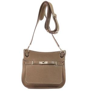 Hermes Gypsiere 28 Silver Hardware Etope Etup Shoulder Bag Taurillon Ladies HERMES