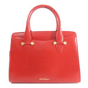 Salvatore Ferragamo 2WAY Handbag Leather Ladies