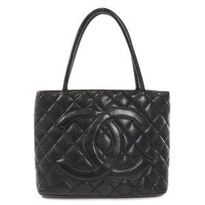 Chanel Reprint Tote Silver Hardware Bag Caviar Skin Women's CHANEL