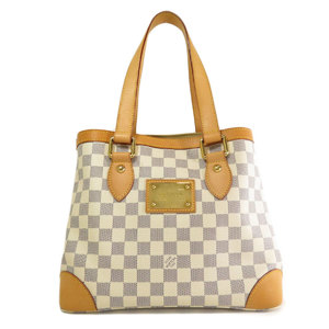 Louis Vuitton N51207 Hampstead PM Damier Azul Tote Bag Canvas Ladies LOUIS VUITTON