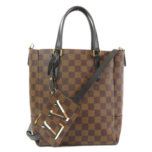 Louis Vuitton N60348 Belmont NV BB Damier Noir Handbag Canvas Ladies LOUIS VUITTON
