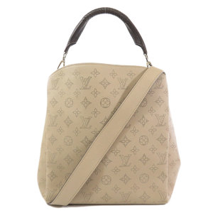 Louis Vuitton M50032 Babylon PM Mahina 2way Handbag Leather Ladies LOUIS VUITTON