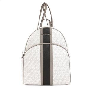 Michael Kors Logo Design Backpack Daypack Leather Ladies