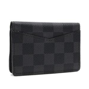 Louis Vuitton Damier Graphite Organizer De Posh Card Case N63143