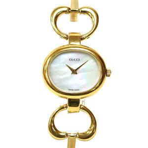 GUCCI Gucci Watch Interlocking Heart 1600 Gold Ladies Men's