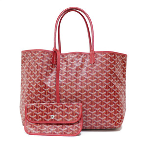 GOYARD Goyal Tote Bag Saint Louis PM Leather Ladies Men