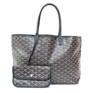 GOYARD Goyal Tote Bag Saint Louis PM Leather Ladies Men