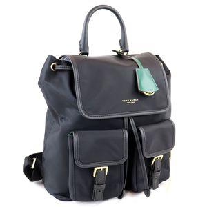 Tory Burch TORY BURCH PERRY NYLON FLAP BACKPACK nylon flap backpack rucksack ladies L1-6863
