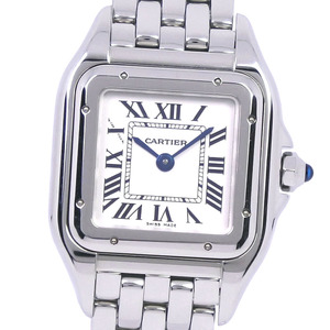 CARTIER PANTHERE DE SM 4022 WSPN0006 Stainless Steel Quartz Ladies White Dial Watch