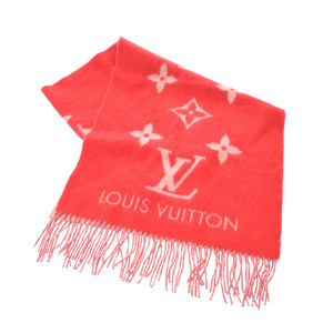 ルイ・ヴィトン(Louis Vuitton) LOUIS VUITTON ルイヴィトン エシャルプレイキャビック ルージュ M70813 ユニセックス カシミヤ100% マフラー