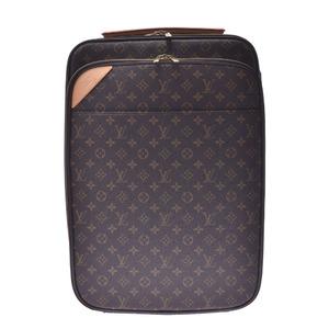 ルイ・ヴィトン(Louis Vuitton) LOUIS VUITTON ルイヴィトン モノグラム ペガス レジエール ビジネス55 ブラウン M20013 ユニセックス キャリーバッグ