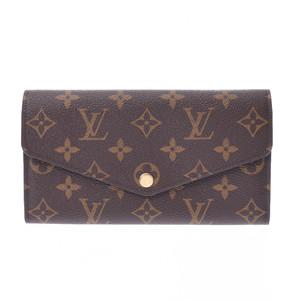 ルイ・ヴィトン(Louis Vuitton) LOUIS VUITTON ルイヴィトン モノグラム ポルトフォイユ サラ ブラウン M60531  ユニセックス 長財布