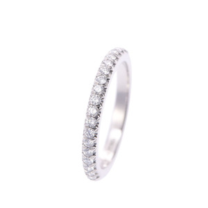 ティファニー(Tiffany) TIFFANY&Co. ティファニー ソレスト ハーフエタニティリング ダイヤ0.17ct #5 5号 レディース Pt950プラチナ リング・指輪