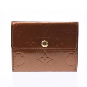 ルイ・ヴィトン(Louis Vuitton) LOUIS VUITTON ルイヴィトン ヴェルニ ラドロー 小銭入れ ブロンズ M91162 レディース コインケース