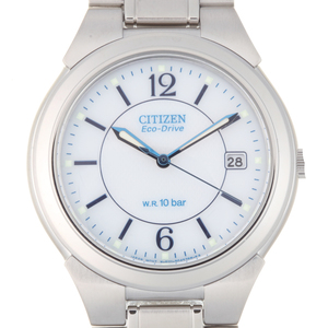 CITIZEN Collection Forma Eco-Drive Mens Watch FRA59-2202 E111-S027161 Stainless Steel White Dial