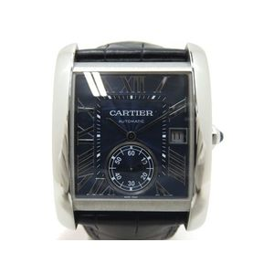 Cartier Tank MC Automatic Blue Dial WSTA0010 Men's Watch