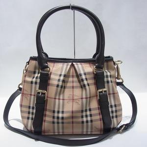 Burberry Nova Check 2WAY Bag Handbag Shoulder Ladies