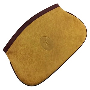Cartier Pouch Mast Beige Bordeaux Gold Hardware Leather Ladies Clutch Bag Wine Red Cosmetic Makeup Small