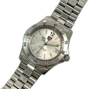 TAG HEUER Watches Mens WK1112-0 Professional 200 Silver Dial Steel Quartz