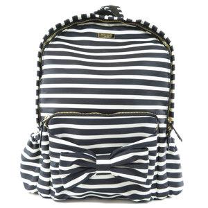 Kate spade border pattern ribbon motif backpack daypack nylon ladies kate