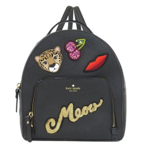 Kate spade emblem sequins rucksack daypack PVC ladies kate