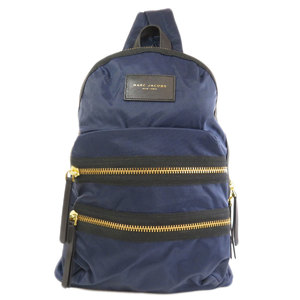 Marc Jacobs Marc By Jacobs Logo Backpack Daypack Nylon Ladies MARC BY JACOBS