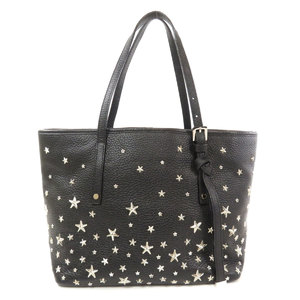 Jimmy Choo studs star motif tote bag calf ladies