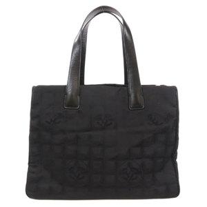 Chanel New Travel Line Tote MM Bag Nylon Ladies CHANEL