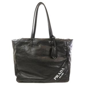 Prada 1BG223 Nappa Soft Leather Tote Bag Ladies PRADA