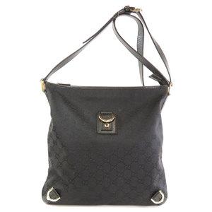 Gucci 131326 GG pattern shoulder bag canvas ladies GUCCI
