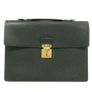 Louis Vuitton M30074 Cerviet Clad Business Bag Taiga Leather Men's LOUIS VUITTON